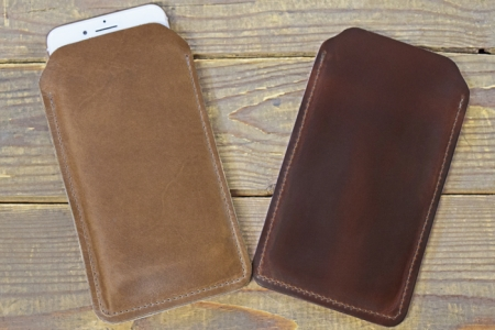 brand new 4835e 536a9 Horween Leather iPhone 6 Plus iPhone 6S Plus / iPhone 7 Plus / iPhone 8  Plus Sleeve