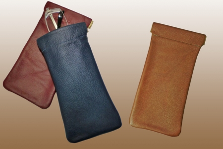 Preferred Snap Leather Eyeglass Case: North Star Leather Co. VU81
